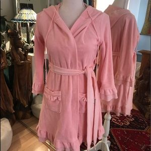 Juicy couture robe nwot pink adorable